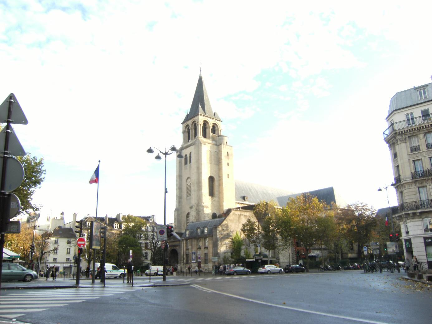 パリ6区 サンジェルマンデプレ教会