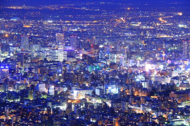 札幌 JRタワー 夜景