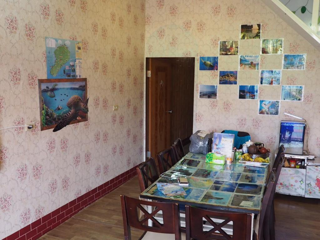 ゲストハウス Xiaoliuqiu Guest Houseのリビング