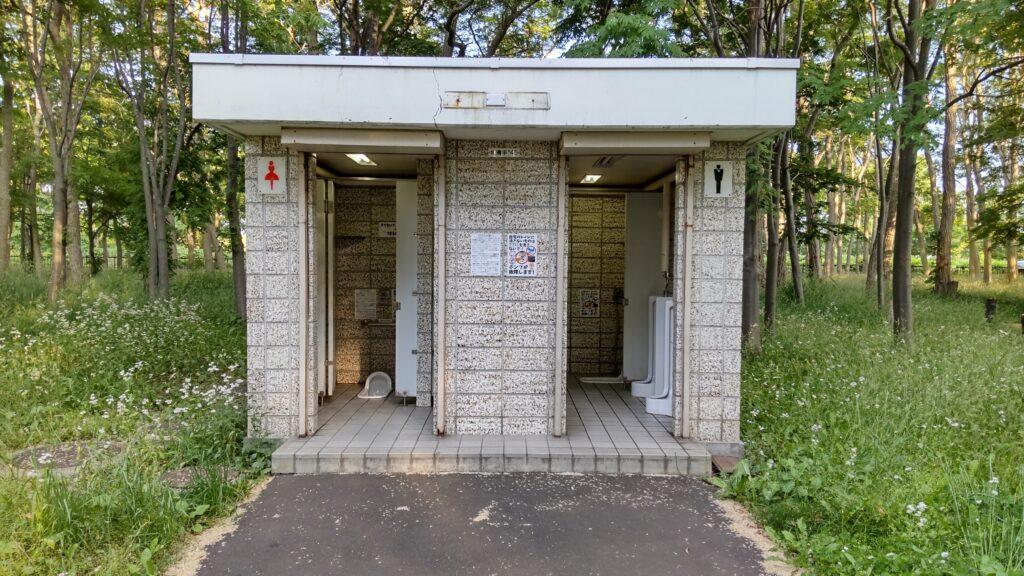 前田森林公園のトイレ