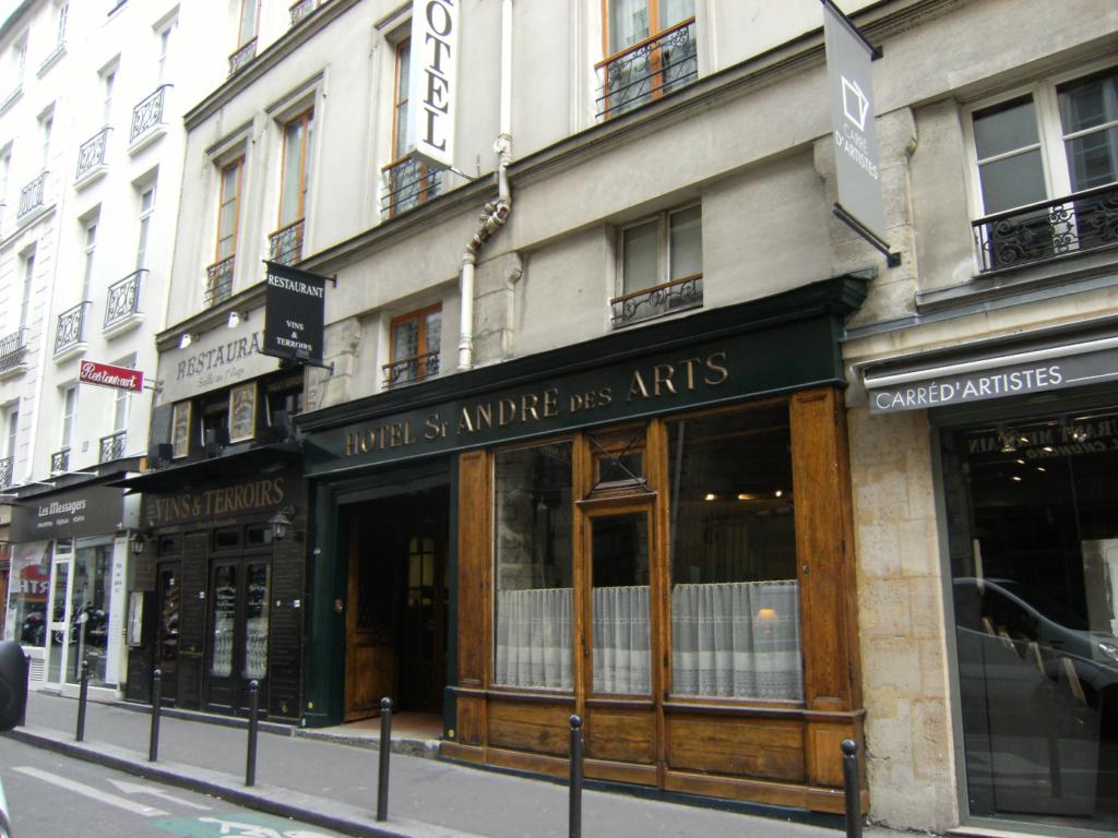 パリ6区にある一つ星ホテル