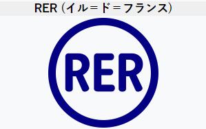 RERロゴマーク(Wikipedia)