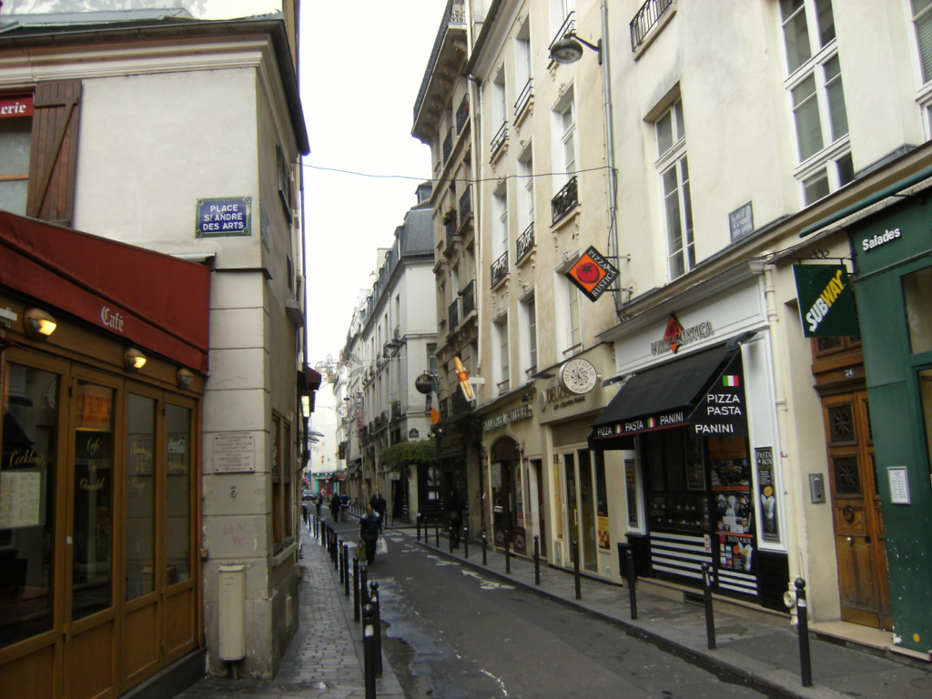 Saint-André des Arts通り