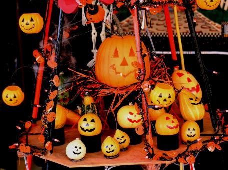 ハロウィンのかぼちゃ