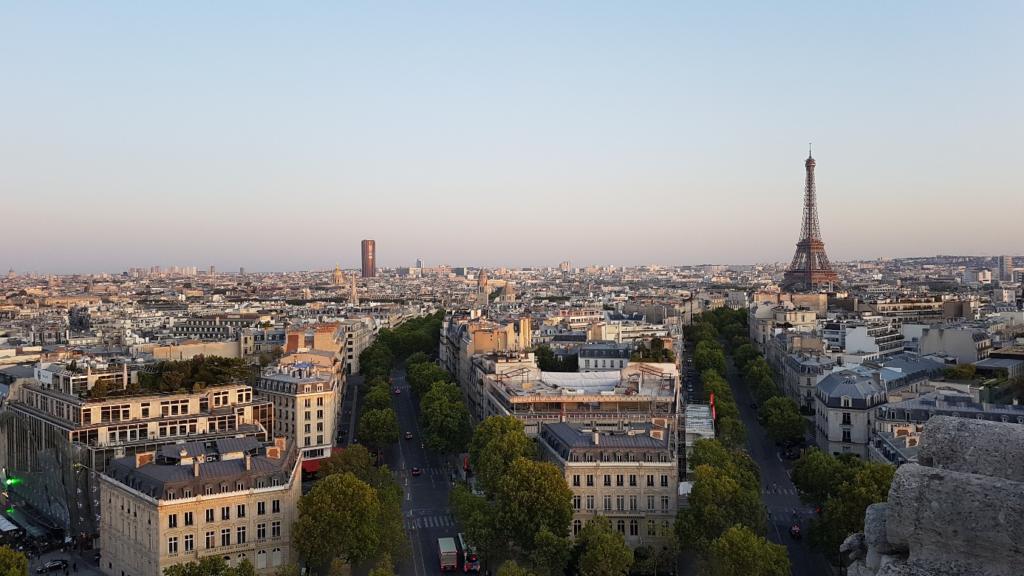 フランパリの風景