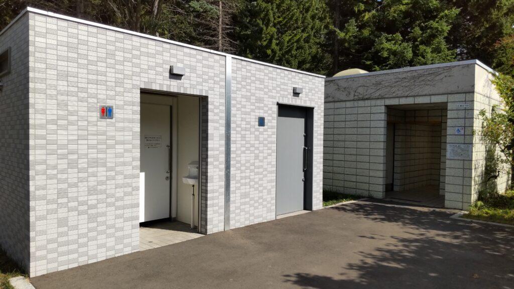 百合が原公園のトイレ
