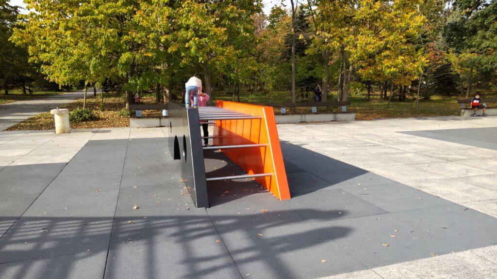 モエレ沼公園の遊具