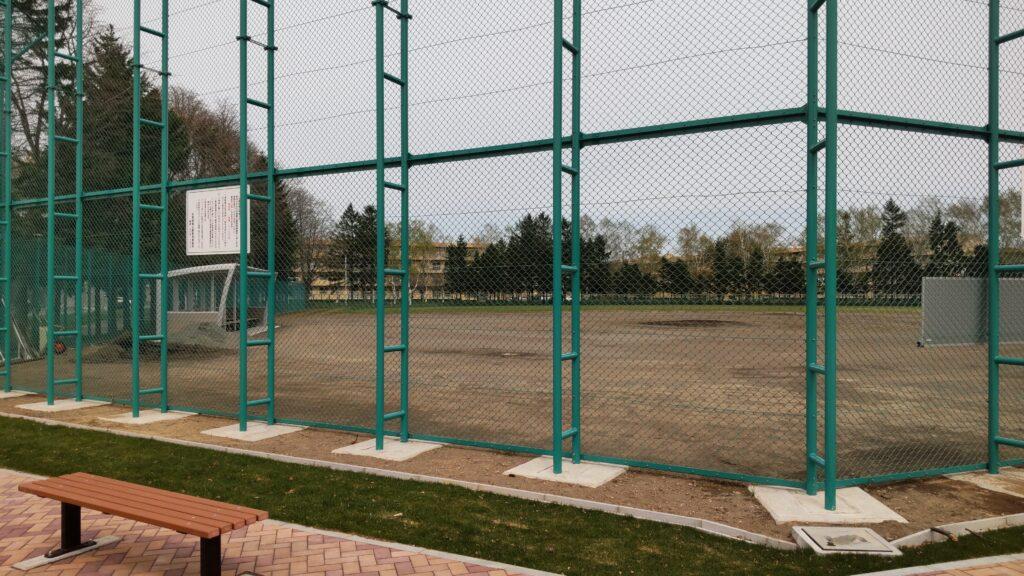 前田公園の野球場