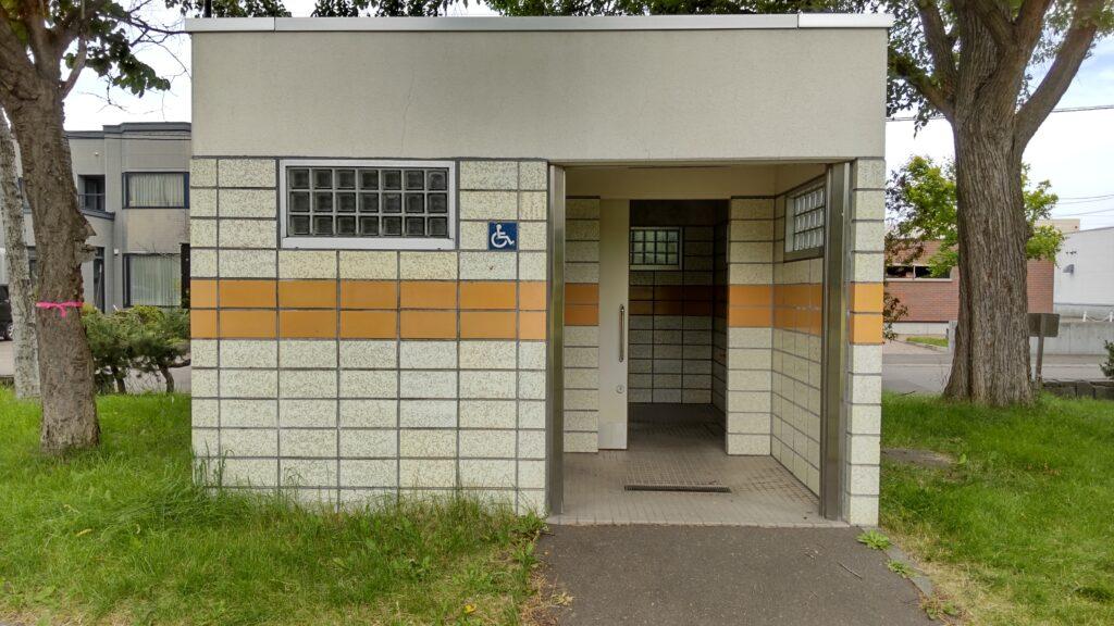 前田公園の障害者用トイレ