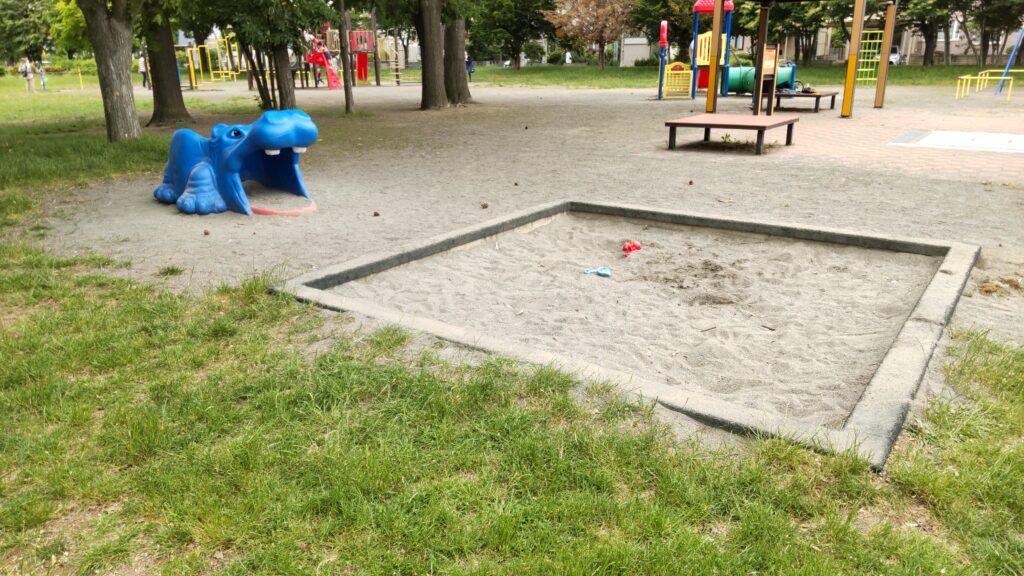 前田公園の砂場