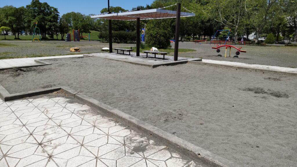 手稲稲積公園の砂場