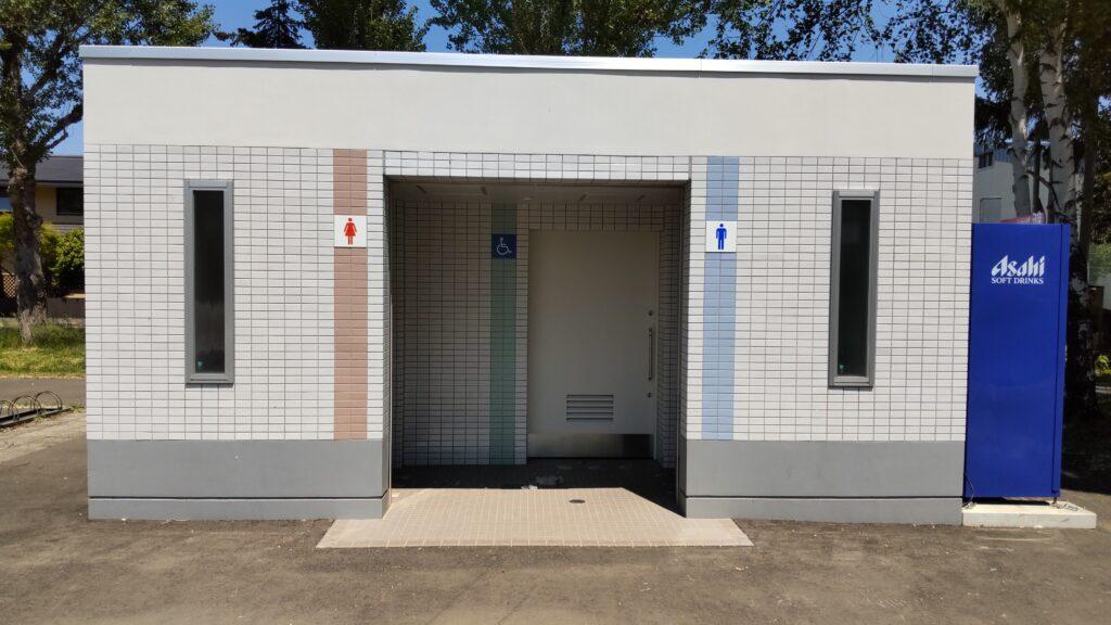 手稲稲積公園のトイレ