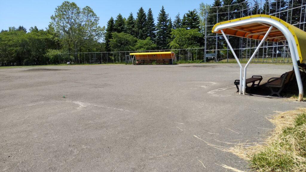 手稲稲積公園の野球場