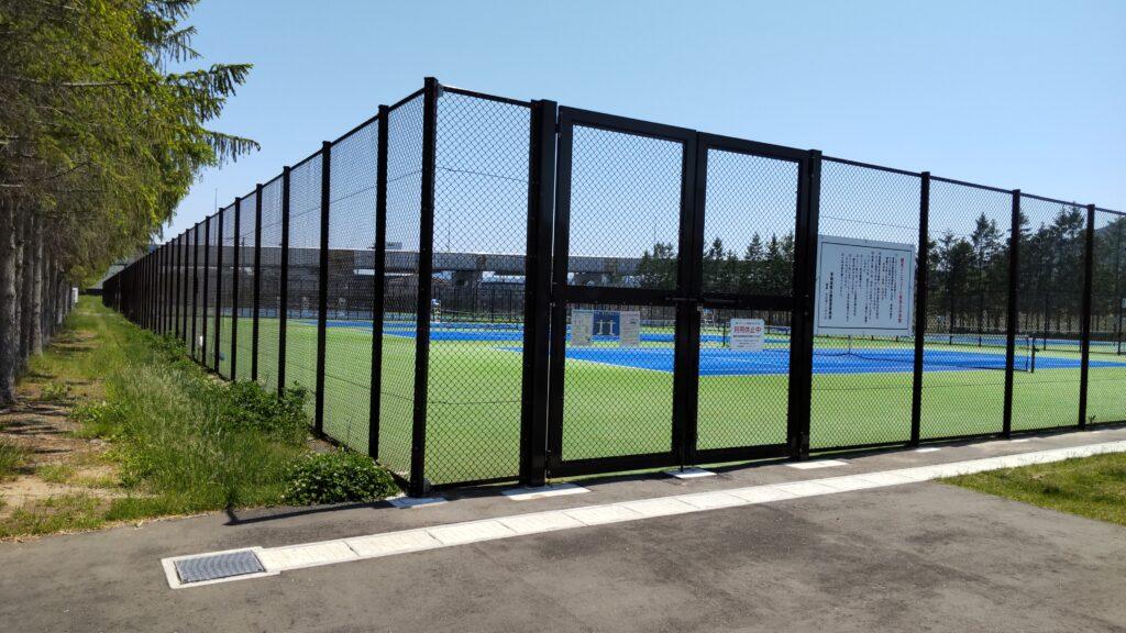 手稲稲積公園 テニスコート