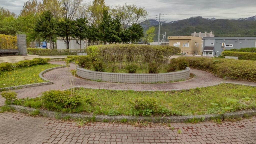 星置公園の中央広場