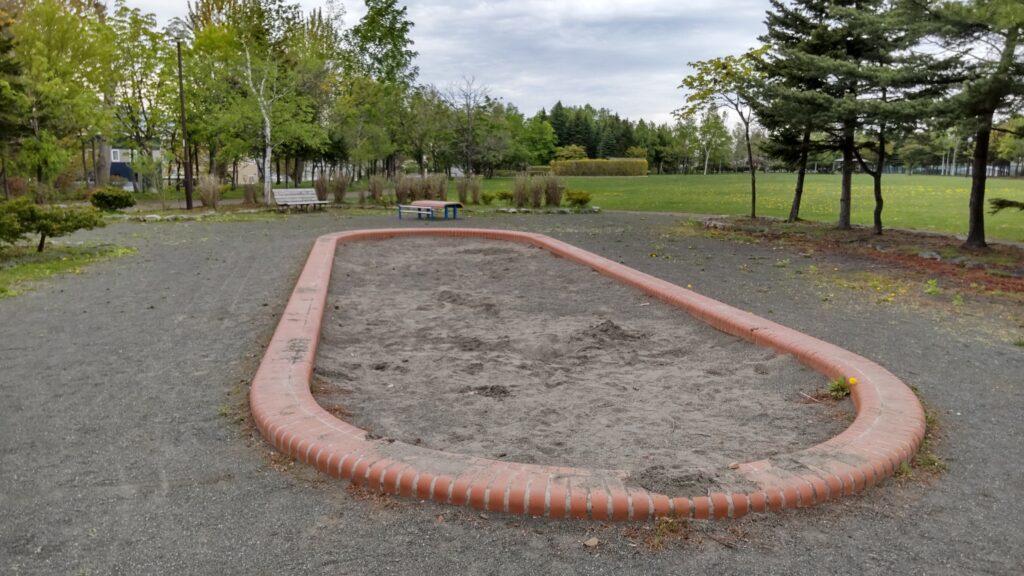 星置公園の砂場