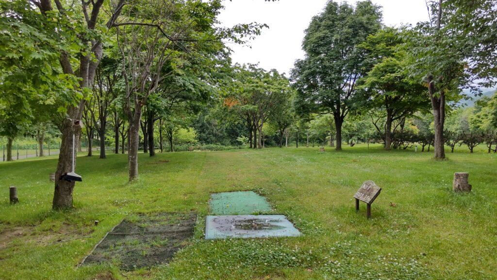 星観緑地のパークゴルフ場