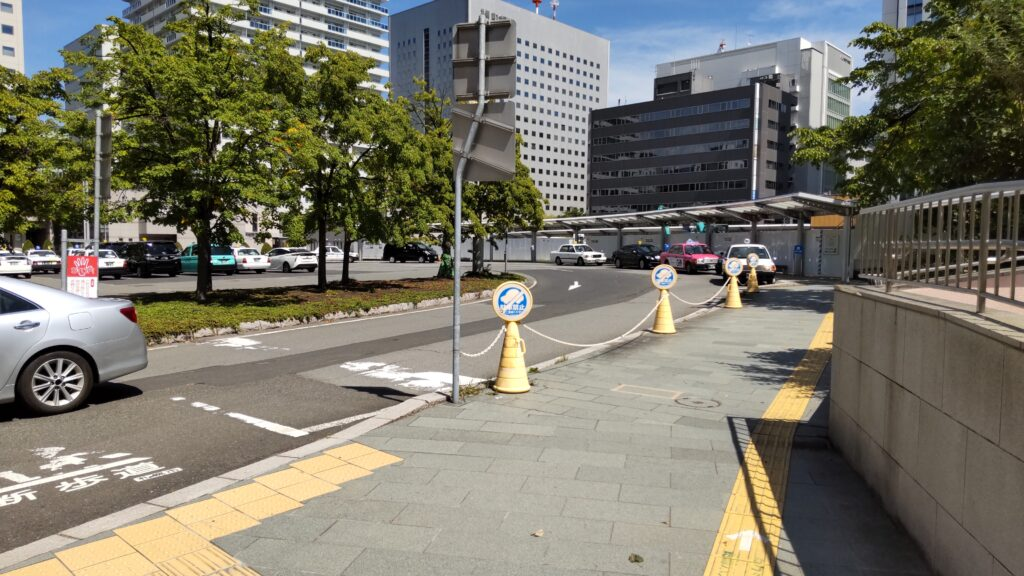 札幌駅北口タクシー乗り場