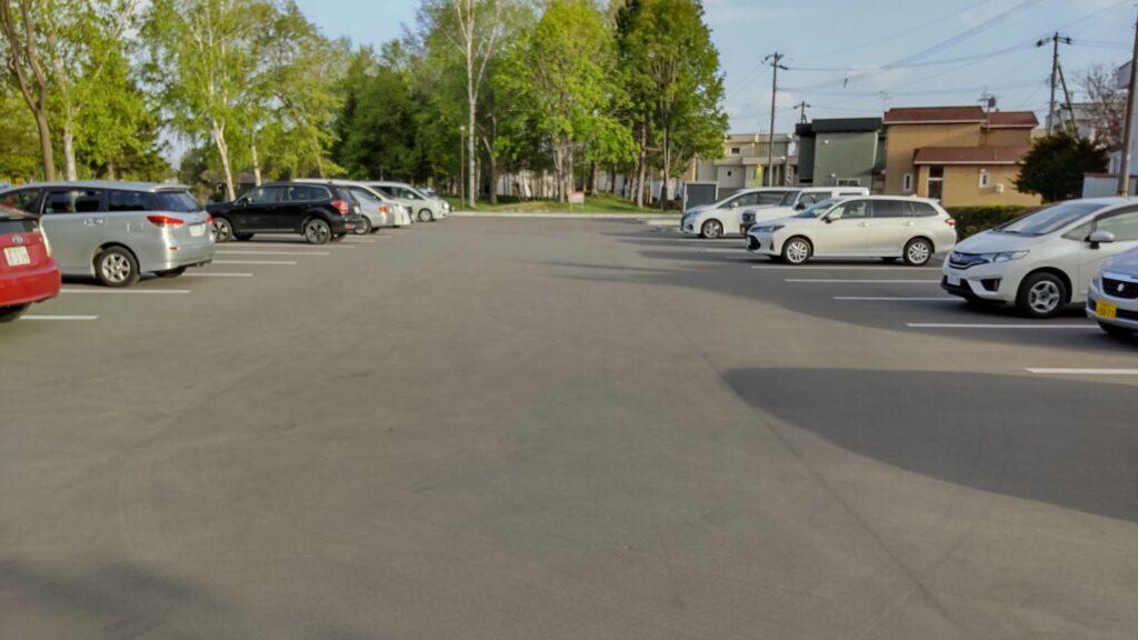 発寒西陵公園の駐車場