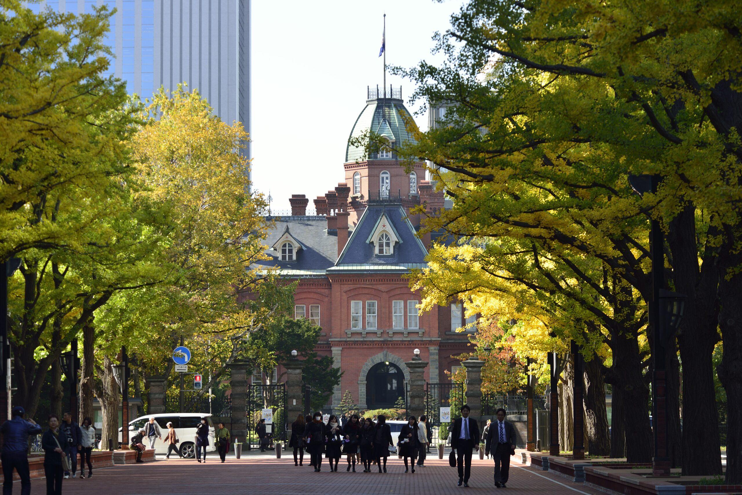 札幌北3条広場(アカプラ)
