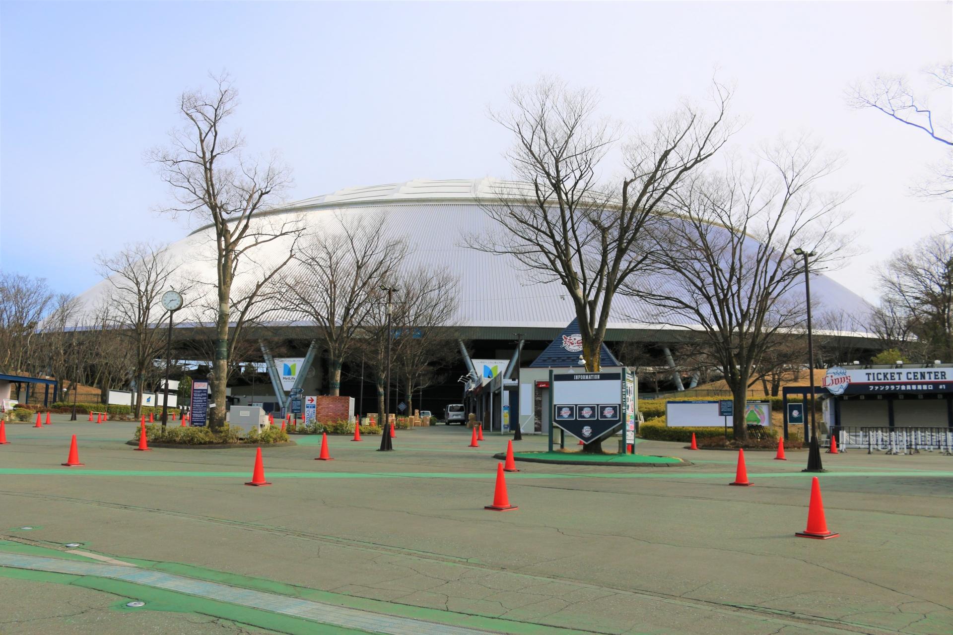 メットライフドーム 西武ドーム